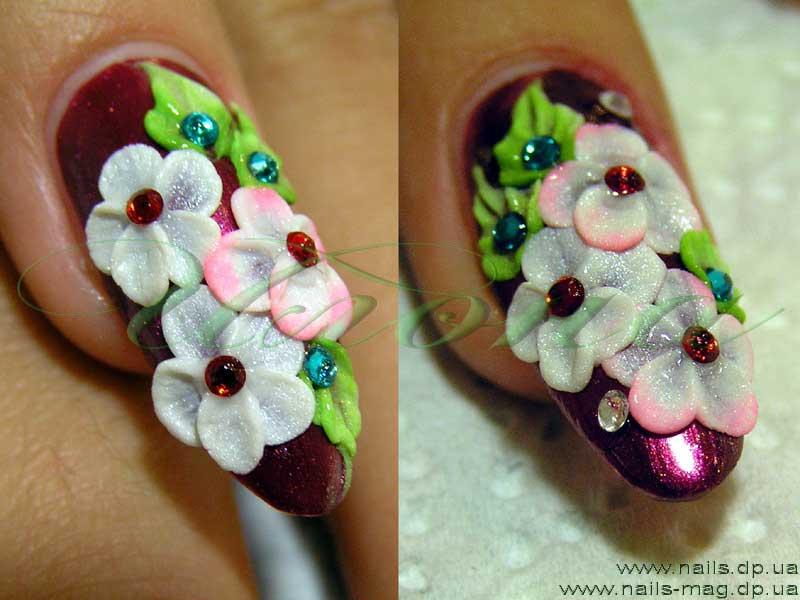 Дизайн ногтей пошаговая инструкция с фото для
